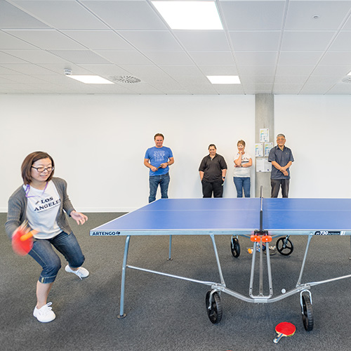 Lightbox Bracknell table tennis tournament
